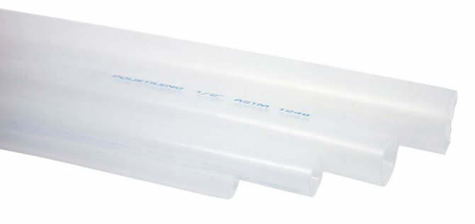 Tubo de polietileno transparente dynatech for Tubo pvc translucido
