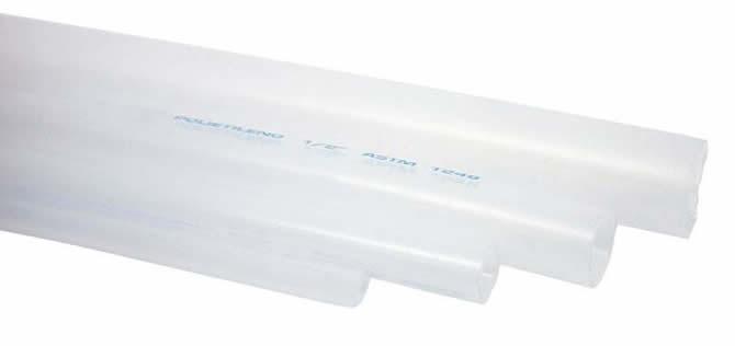 Tubo de Polietileno Transparente